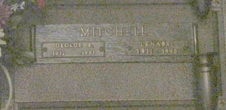 MITCHELL, GEORGE BERNARD - Marion County, Oregon | GEORGE BERNARD MITCHELL - Oregon Gravestone Photos