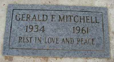 MITCHELL, GERALD FRED - Marion County, Oregon | GERALD FRED MITCHELL - Oregon Gravestone Photos
