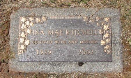 MITCHELL, INA MAE - Marion County, Oregon | INA MAE MITCHELL - Oregon Gravestone Photos