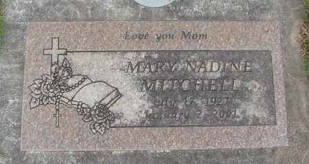 MITCHELL, MARY NADINE - Marion County, Oregon | MARY NADINE MITCHELL - Oregon Gravestone Photos