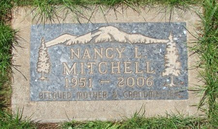 MITCHELL, NANCY L - Marion County, Oregon | NANCY L MITCHELL - Oregon Gravestone Photos