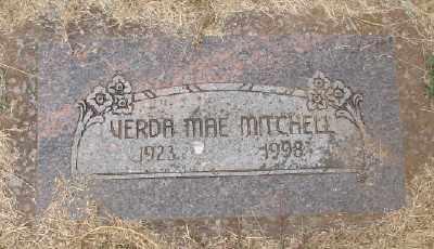 MITCHELL, VERDA MAE - Marion County, Oregon | VERDA MAE MITCHELL - Oregon Gravestone Photos