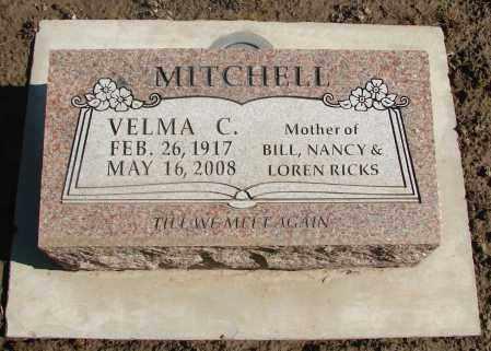 MITCHELL, VELMA C - Marion County, Oregon | VELMA C MITCHELL - Oregon Gravestone Photos