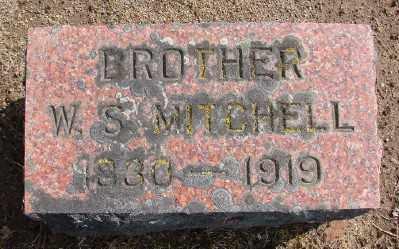MITCHELL, W S - Marion County, Oregon | W S MITCHELL - Oregon Gravestone Photos