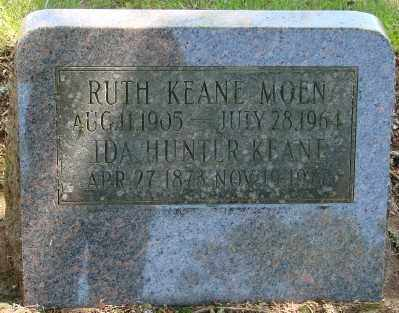 KEANE MOEN, RUTH E - Marion County, Oregon | RUTH E KEANE MOEN - Oregon Gravestone Photos