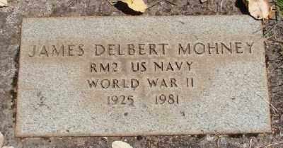 MOHNEY (WWII), JAMES DELBERT - Marion County, Oregon | JAMES DELBERT MOHNEY (WWII) - Oregon Gravestone Photos