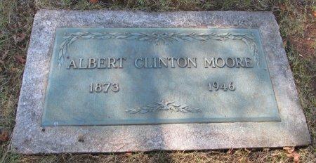 MOORE, ALBERT CLINTON - Marion County, Oregon   ALBERT CLINTON MOORE - Oregon Gravestone Photos