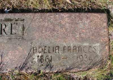 MOORE, ADELIA FRANCES - Marion County, Oregon | ADELIA FRANCES MOORE - Oregon Gravestone Photos