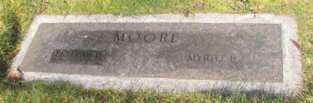 MOORE, BERTRAM B - Marion County, Oregon | BERTRAM B MOORE - Oregon Gravestone Photos