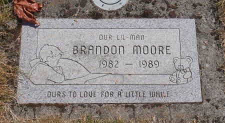 MOORE, BRANDON GENE - Marion County, Oregon   BRANDON GENE MOORE - Oregon Gravestone Photos