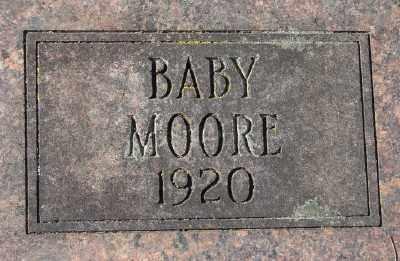 MOORE, BABY - Marion County, Oregon | BABY MOORE - Oregon Gravestone Photos