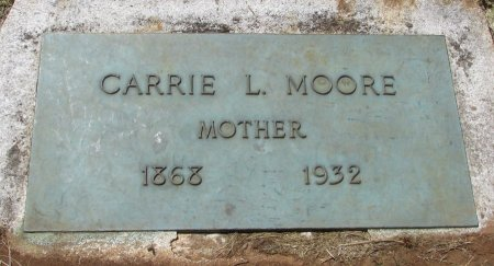 MOORE, CARRIE LENA - Marion County, Oregon | CARRIE LENA MOORE - Oregon Gravestone Photos