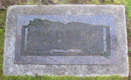 MOORE, CHARLES R - Marion County, Oregon | CHARLES R MOORE - Oregon Gravestone Photos