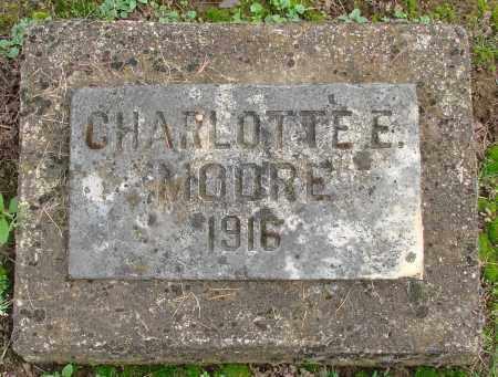 MOORE, CHARLOTTE E - Marion County, Oregon   CHARLOTTE E MOORE - Oregon Gravestone Photos