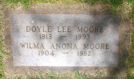 MOORE, WILMA ANONA - Marion County, Oregon | WILMA ANONA MOORE - Oregon Gravestone Photos