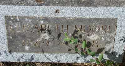 MOORE, ELIZABETH - Marion County, Oregon | ELIZABETH MOORE - Oregon Gravestone Photos