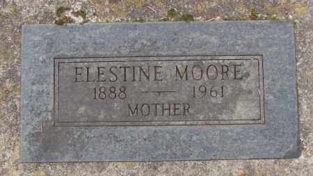 MOORE, ELESTINE - Marion County, Oregon | ELESTINE MOORE - Oregon Gravestone Photos