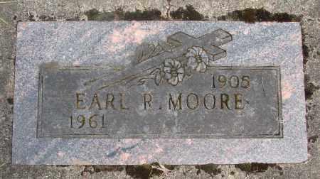 MOORE, EARL R - Marion County, Oregon | EARL R MOORE - Oregon Gravestone Photos