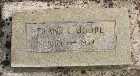 MOORE, FRANK L - Marion County, Oregon | FRANK L MOORE - Oregon Gravestone Photos