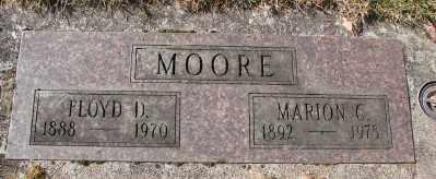 MOORE, MARION C - Marion County, Oregon | MARION C MOORE - Oregon Gravestone Photos