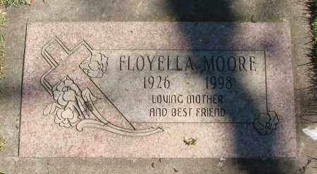 MOORE, FLOYELLA - Marion County, Oregon | FLOYELLA MOORE - Oregon Gravestone Photos