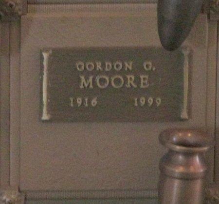 MOORE, GORDON G - Marion County, Oregon | GORDON G MOORE - Oregon Gravestone Photos
