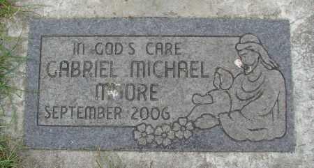 MOORE, GABRIEL MICHAEL - Marion County, Oregon | GABRIEL MICHAEL MOORE - Oregon Gravestone Photos