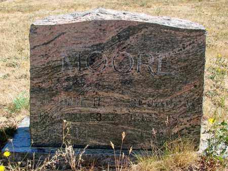 MOORE, JENNIE H - Marion County, Oregon   JENNIE H MOORE - Oregon Gravestone Photos