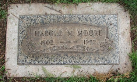MOORE, HAROLD MATTHEW - Marion County, Oregon   HAROLD MATTHEW MOORE - Oregon Gravestone Photos