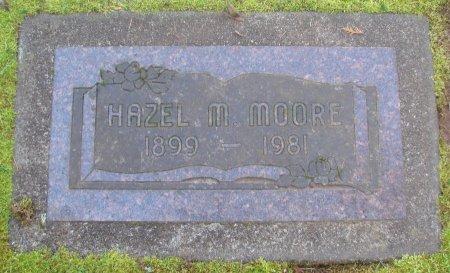 MOORE, HAZEL M - Marion County, Oregon   HAZEL M MOORE - Oregon Gravestone Photos