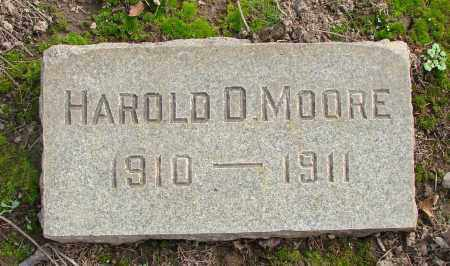 MOORE, HAROLD D - Marion County, Oregon | HAROLD D MOORE - Oregon Gravestone Photos