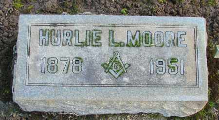 MOORE, HURLIE L - Marion County, Oregon | HURLIE L MOORE - Oregon Gravestone Photos