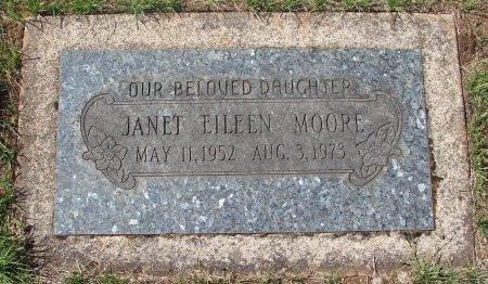 MOORE, JANET EILEEN - Marion County, Oregon   JANET EILEEN MOORE - Oregon Gravestone Photos