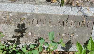 MOORE, JACKSON L - Marion County, Oregon   JACKSON L MOORE - Oregon Gravestone Photos