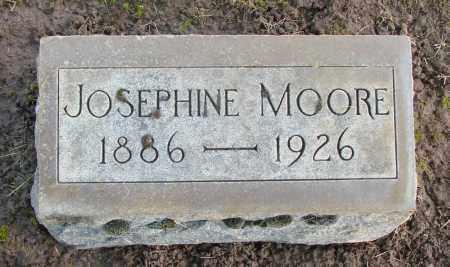 MOORE, JOSEPHINE - Marion County, Oregon   JOSEPHINE MOORE - Oregon Gravestone Photos