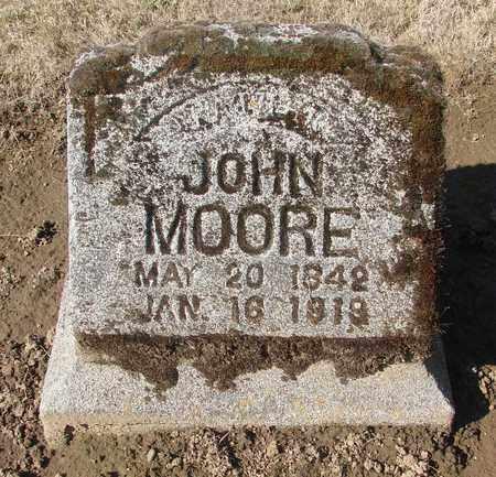 MOORE, JOHN - Marion County, Oregon | JOHN MOORE - Oregon Gravestone Photos