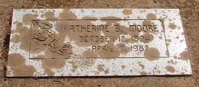 LIMBECK MOORE, KATHERINE BERTHA - Marion County, Oregon | KATHERINE BERTHA LIMBECK MOORE - Oregon Gravestone Photos