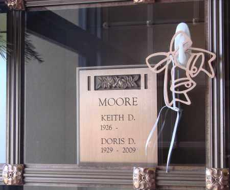 MOORE, KEITH D - Marion County, Oregon | KEITH D MOORE - Oregon Gravestone Photos