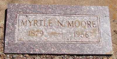 MOORE, MYRTLE NELLIE - Marion County, Oregon | MYRTLE NELLIE MOORE - Oregon Gravestone Photos