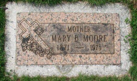 MOORE, MARY B - Marion County, Oregon   MARY B MOORE - Oregon Gravestone Photos