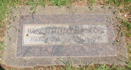 MOORE, MARY ELLEN - Marion County, Oregon   MARY ELLEN MOORE - Oregon Gravestone Photos