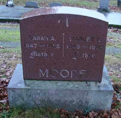 MOORE, SARAH ANN - Marion County, Oregon | SARAH ANN MOORE - Oregon Gravestone Photos