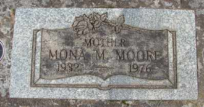MOORE, MONA M - Marion County, Oregon | MONA M MOORE - Oregon Gravestone Photos