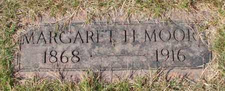 MOORE, MARGARET H - Marion County, Oregon | MARGARET H MOORE - Oregon Gravestone Photos