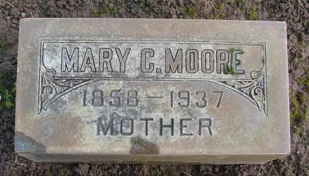 MOORE, MARY C - Marion County, Oregon | MARY C MOORE - Oregon Gravestone Photos