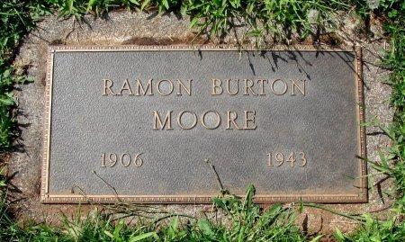MOORE, RAMON BURTON - Marion County, Oregon | RAMON BURTON MOORE - Oregon Gravestone Photos