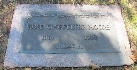 MOORE, ROSE OLIVE - Marion County, Oregon | ROSE OLIVE MOORE - Oregon Gravestone Photos