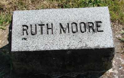 MOORE, RUTH - Marion County, Oregon | RUTH MOORE - Oregon Gravestone Photos