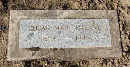 MOORE, SUSAN MARY - Marion County, Oregon | SUSAN MARY MOORE - Oregon Gravestone Photos