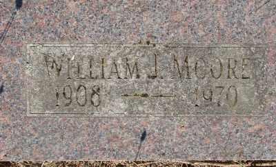 MOORE, WILLIAM J - Marion County, Oregon | WILLIAM J MOORE - Oregon Gravestone Photos